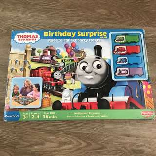 Thomas and Friends birthday surprise board game
