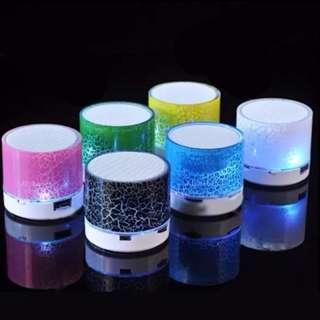 LED Light Mini Bluetooth Speaker