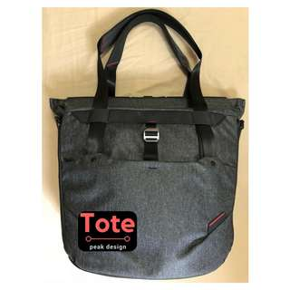Peak Design Tote Charcoal