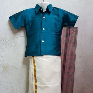 Traditional Indian wear for kids