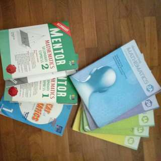 [CLEARANCE] Mathematics Books for Secondary School