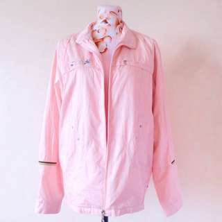 Pastel Pink Waterproof Jacket