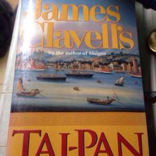 Tai-Pan by James Clavell Best Seller #hello2018