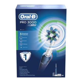 Oral-B Power Rechargeable Toothbrush PRO 3000 Cross Action