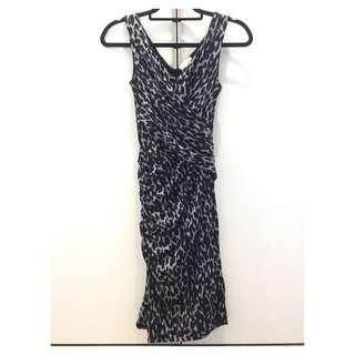 Witchery Animal Print Dress Size 4
