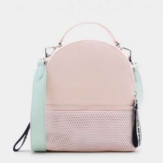 Charles and Keith MESH DETAIL BACKPACK