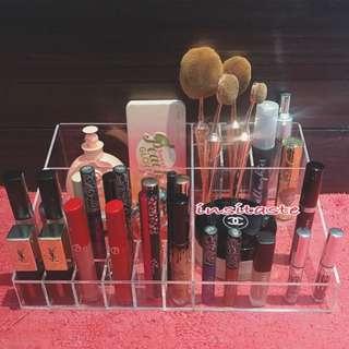 Acrylic Make Up Organizer - Tempat Penyimpanan Kosmetik - New - 💄