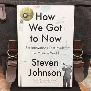 # Highly Recommended《Bran-New + Hardcover Collection Edition + How Innovations In 6 Different Fields Shaped Our Civilization》Steven Johnson - HOW WE GOT TO NOW: Six Innovations That Made the Modern World