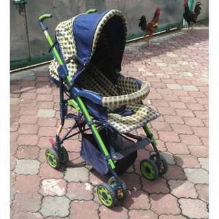 Baby Stroller (Yellow Blue) * K86 A