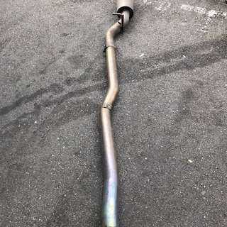 TRUST TITANIUM Cat-Back Exhaust + Silencer for Subaru