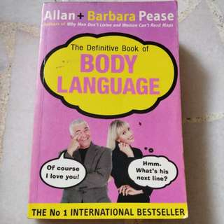 The Definitive Book of Body Language by Allan & Barbara Pease