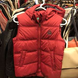 United Colors of Benetton red jacket size S