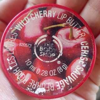 Lip butter body shop cherry