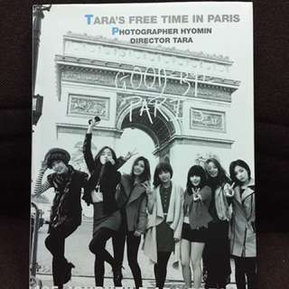 T-ARA Freedom in Paris photobook