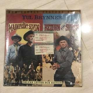 Original Magnificent MGM double feature Laser disc