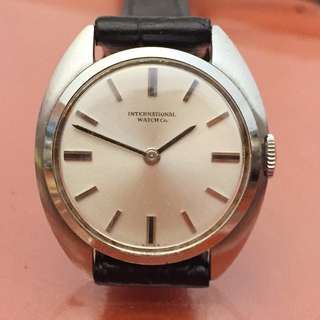 古董女裝上鏈錶 IWC Vintage Hand-Winding Ladies Watch 24mm