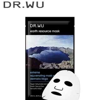 DR.WU 藍藻逆齡面膜
