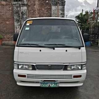 013 Nissan Urvan Vx