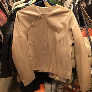 Shanghai Tang leather jacket size US4