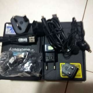 Headset, Charger and Kabel Data (2 Set)