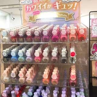 日本限定Hello Kitty 指甲油💕