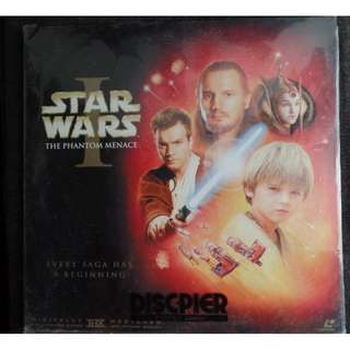 Star Wars Phantom Menace Laserdisc