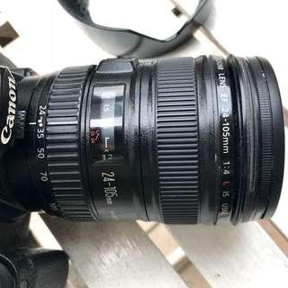 Canon EF 24-105mm f/4L lens