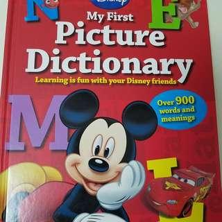 迪士尼英文字典書phonic