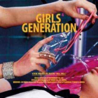 Girls' Generation Mr Mr Album with unfolded poster