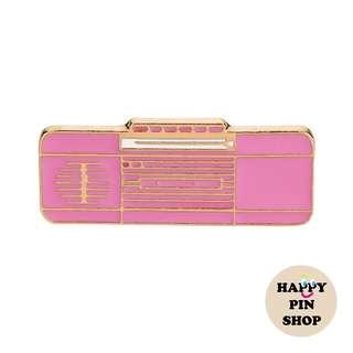 📻 Radio Cassette Player Enamel Pin