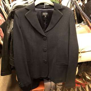 Giorgio Armani navy dark blue jacket size 44