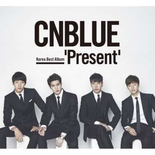 CNBlue Japan Best Album Present with unfolded poster