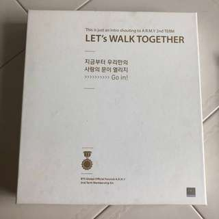BTS CLEARANCE WTS ARMY2기 MEMBERSHIP