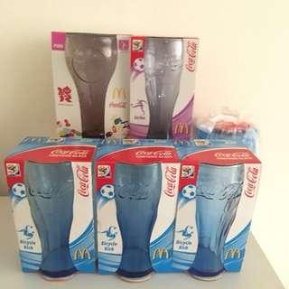 McD / Coca Cola collectible glasses