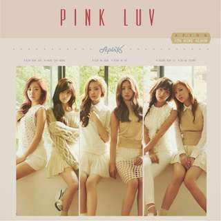 APink Pink Luv Poster (unfolded)