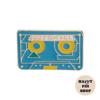 🎵 Make Out Mix Casette Tape Enamel Pin