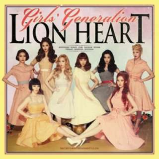 Girls' Generation Lion Heart Poster (unfolded)