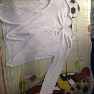MANGO cardigan putih