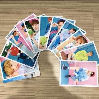 Wannaone in KL photocard full set