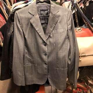 Giorgio Armani gray jacket size 42