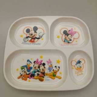 🚚 迪士尼 兒童 餐盤