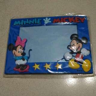 迪士尼米奇米妮軟相框