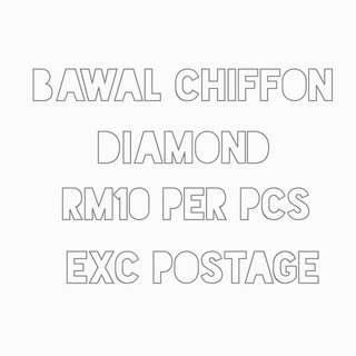 Bawal chiffon diamond