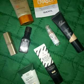 LOW PRICE!! New and used make up and skin care