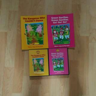 Sunshine Rhyme, Song & Play - 2 books and 2 CDs