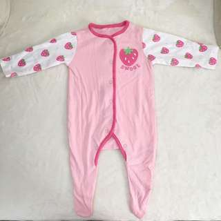 (NEW) Mothercare sleepsuit (0-3 mos)