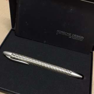 Porsche Design TecFlex Bi-Color Steel & Gold Ballpoint