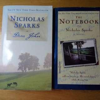 Nicholas Sparks Dear John and The Notebook