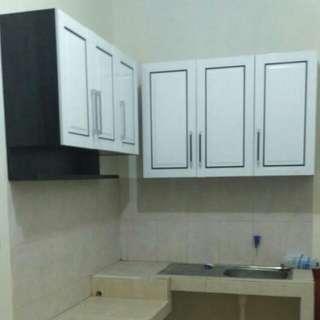 Lemari gantung dapur / Kitchen Set 6 Pintu uk : 136 cm