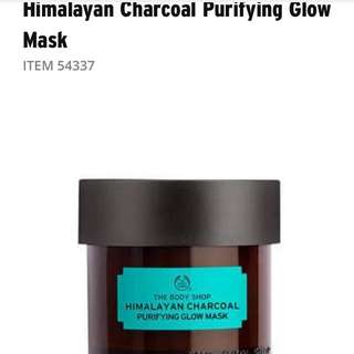 The Body Shop Hilmalayan Charcoal Mask and Tea Tree Oil